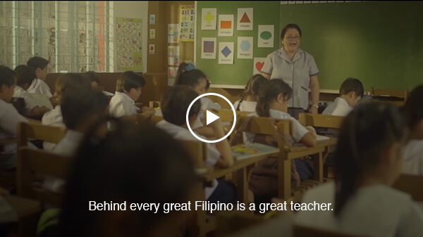 Behind every great Filipino is a great teacher